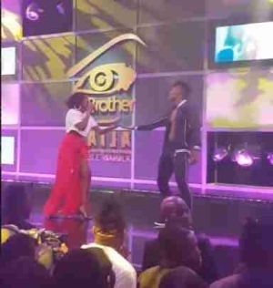 BBNaija: Simi Is Trended Over Her Outfit To The Eviction Show